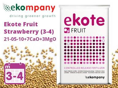 Удобрение Ekote Fruit Strawberry 21-05-10+7CaO+3MgO (3-4 месяцев) - 25 кг
