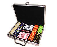 """Набор для покера """"Texas Holdem Poker"""" 200 фишек в чемодане, фото 8"""