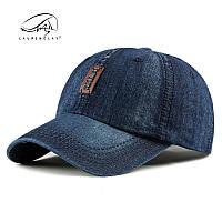 Бейсболка кепка джинсовая синяя,черная.