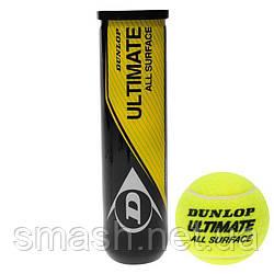 Теннисные мячи  Dunlop Ultimate All Surface 4ball