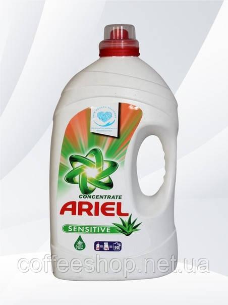 Жидкий порошок Ariel Sensitive с экстрактом Алоэ Вера 5,65 л (Польша)