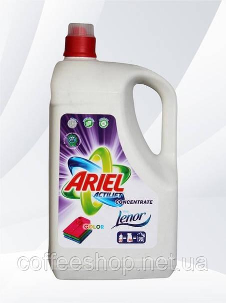 Гель для стирки Ariel Color концентрат с Lenor 4,9 л (Польша)