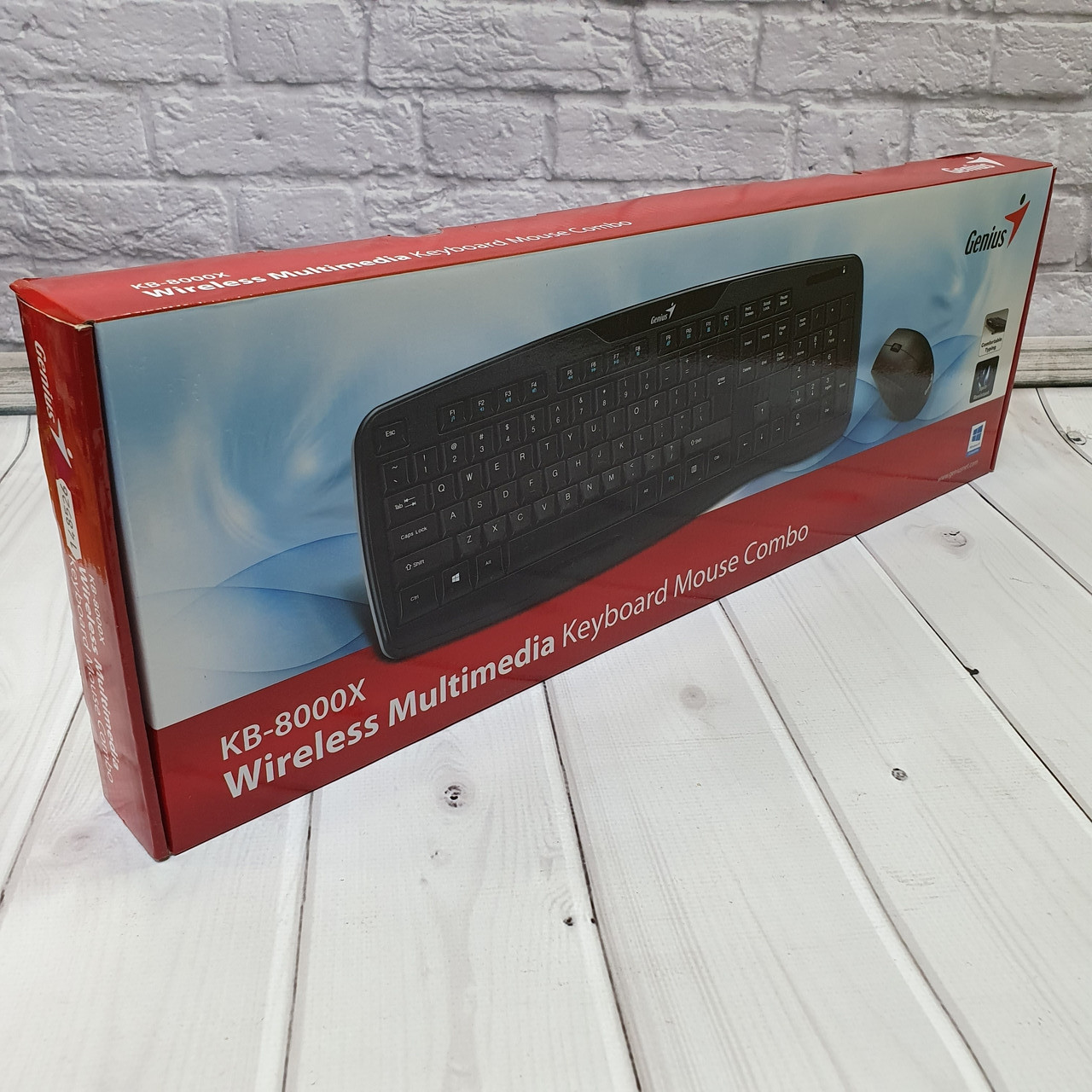 Беспроводные Клавиатуры  Genius KB-8000X