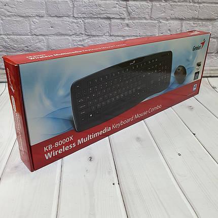 Беспроводные Клавиатуры  Genius KB-8000X, фото 2