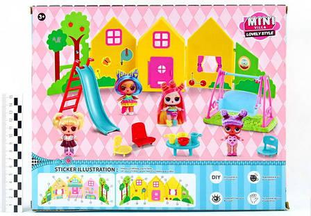 """Игровой набор \""""Куколки LOL OMG: Мини вилла с 2 куколками и аксессуарами\"""", фото 2"""