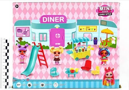 """Игровой набор \""""Куколки LOL OMG: Мини кафе с 2 куколками и аксессуарами\"""", фото 2"""
