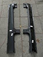 Оригинальный порог боковины Славута ЗАЗ-1103. Порог левый наружный 1103-5401033 правый порог 1103-5401032, фото 1