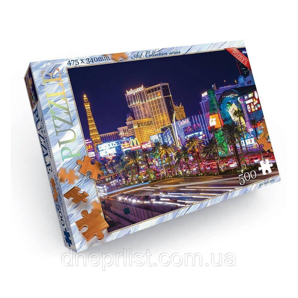 Пазл 500 элементов / Лас Вегас