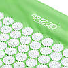 Коврик акупунктурный 4FIZJO Аппликатор Кузнецова 128 x 48 см 4FJ0045 Green для дома и спортзала зеленого цвета, фото 4