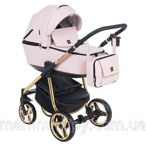 Детская универсальная коляска 2 в 1 Adamex Barcelona Limited Gold BR-330 (адамекс барселона)