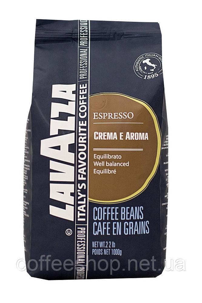 Кофе в зернах Lavazza Espresso Crema e Aroma 1 кг (Италия)