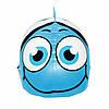 Шапочка для плавания детская безразмерная SportVida SV-DN0016JR Blue 100% силикон синего цвета, фото 4