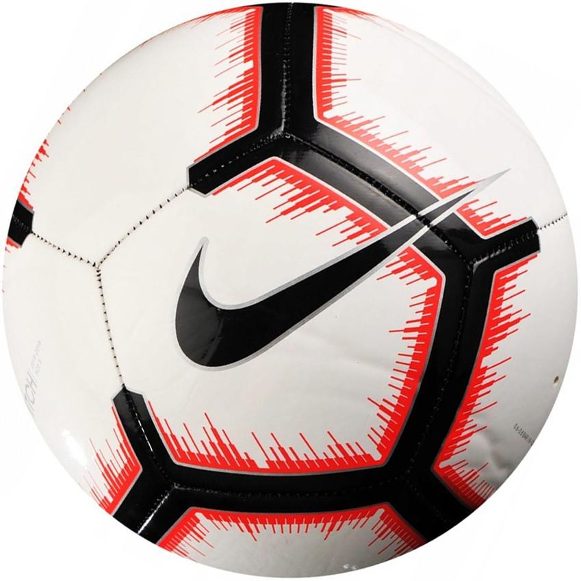 Мяч футбольный спортивный Nike Pitch SC3316-100 Size 5 полиуретановый для улицы и спортзала