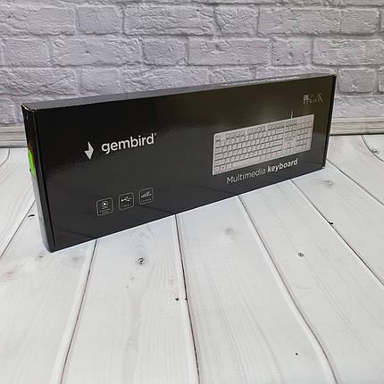Проводные Клавиатуры  Gembird White, фото 2