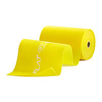 Лента-эспандер для спорта и реабилитации 4FIZJO Flat Band 30 м 1-2 кг 4FJ0101 для дома и спортзала