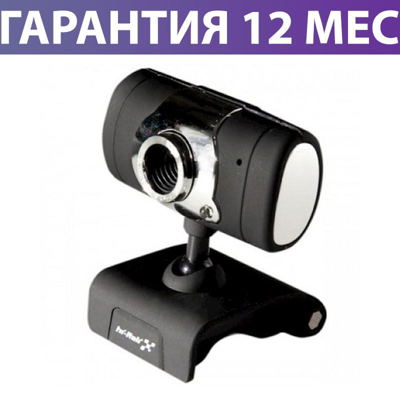 Веб-камера Hi-Rali HI-CA009, вебкамера і мікрофон для Zoom, Viber, Skype