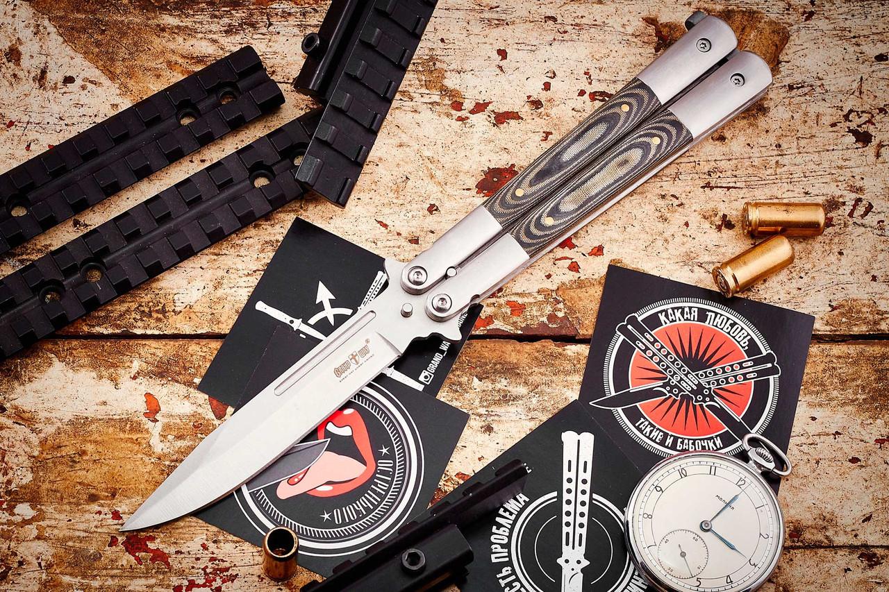 Нож Балисонг (Сталь) B36