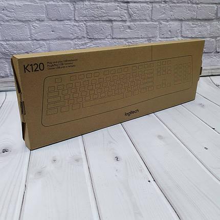 Проводные Клавиатуры  Logitech K120, фото 2