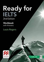 Ready for IELTS 2nd Edition Workbook with answers and Audio CDs - Тетрадь / Macmillan