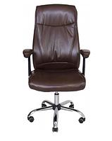 Офисное кресло Richman Альваро коричневое, для руководителя