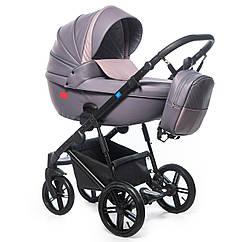 Детская коляска универсальная 3 в 1 Broco Avenue 02 фиолетовый (Броко, Польша)