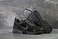 Кроссовки замшевые Nike, черные
