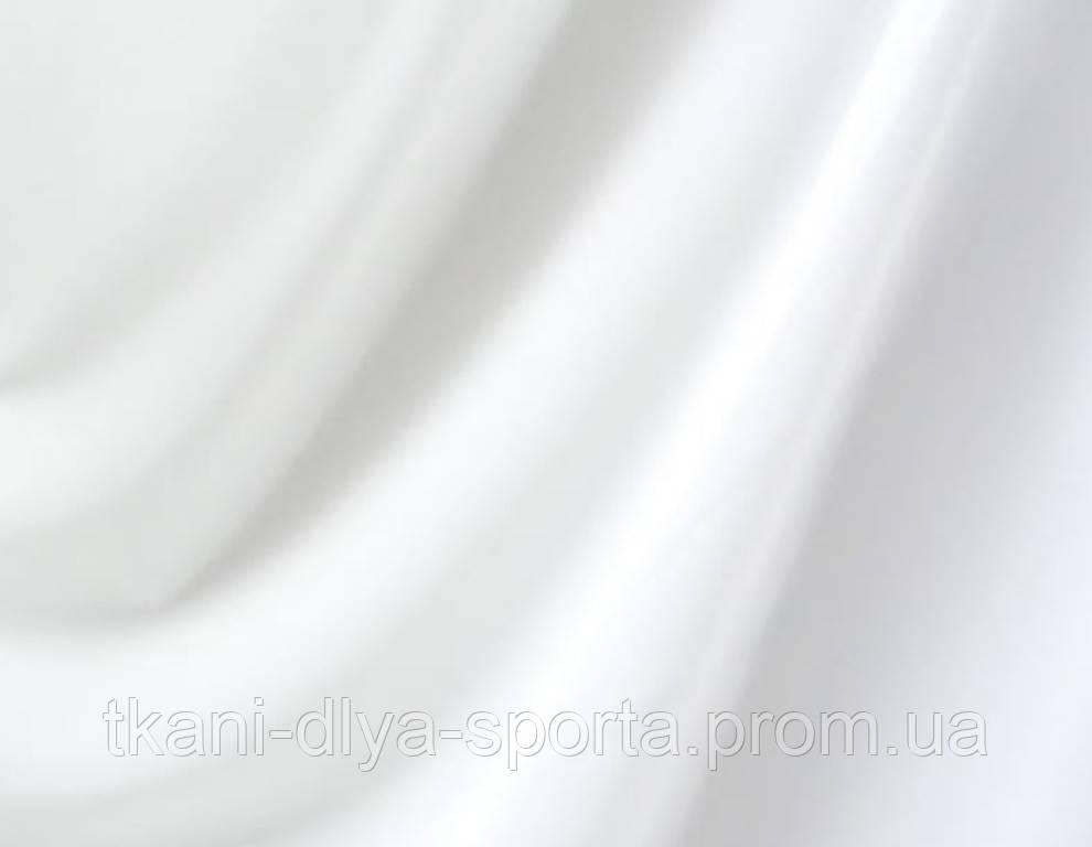 Бифлекс с нежным блеском белый