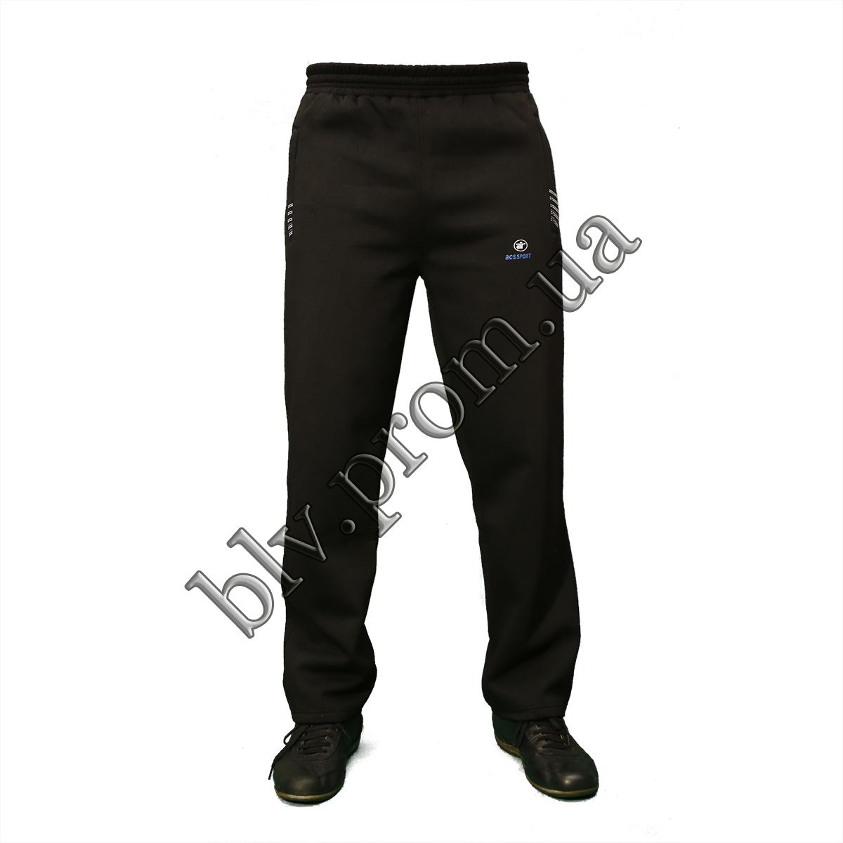 Теплые мужские брюки байка пр-во Турция KD884 Black