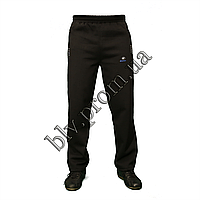 Теплые мужские брюки байка пр-во Турция KD884 Black, фото 1
