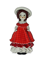 Статуэтка Zampiva Девочка в красном платье