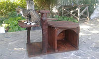 Деревянный домик для кота, фото 1