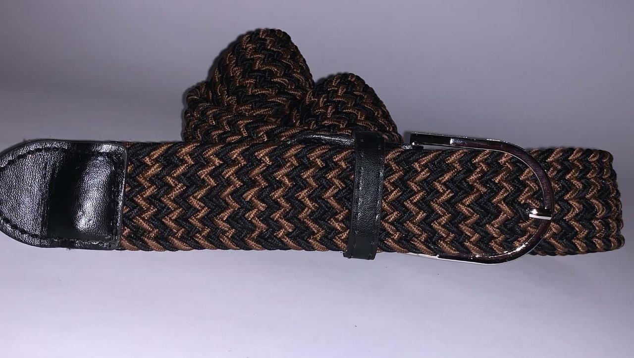 Плетений жіночий пояс, коричневий, 75/90 грн (ціна за 1шт.+15 грн)