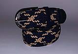 Плетений жіночий пояс, коричневий, 75/90 грн (ціна за 1шт.+15 грн), фото 4