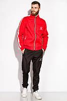 Костюм GS спортивный Time Of Style на флисе 120PKN001 (Черно-красный)