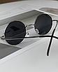 Солнцезащитные очки круглые стеклянные черные унисекс гарри поттера очки лепса джона ленона, фото 9