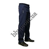 Теплые мужские брюки байка пр-во Турция KD884 Indigo