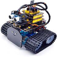 Робот на ардуино Танк гусеничный с Bluetooth (2020 V2.0), фото 3