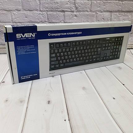 Проводные Клавиатуры Sven 304 USB HUB, фото 2