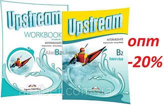 Английский язык / Upstream / Student's+Workbook. Учебник+Тетрадь, B2 Intermediate / Exspress Publishing