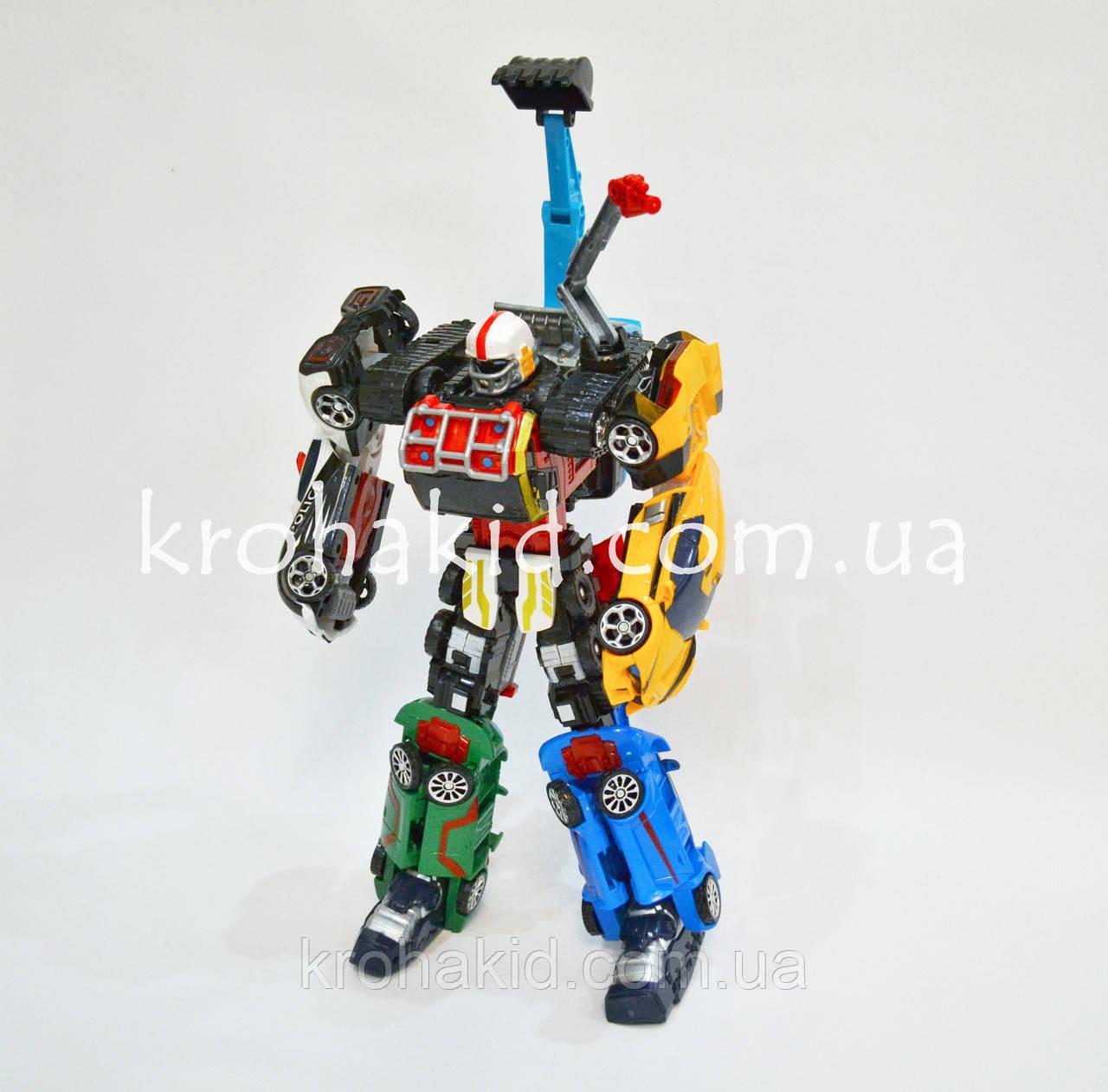 Большой трансформер TOBOT Magma 6 Athlon / Робот - трансформер Магма 6 / TOBOT MAGMA 6 INTEGRATION 523