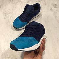 Кроссовки мужские Reebok Blue замшевые