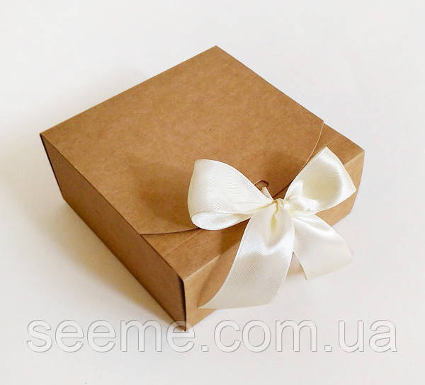"Коробка подарочная из крафт картона,115х115х50 мм: продажа, цена в Одессе.  Подарочные коробки и пакеты от ""SEE ME"" - 1159012957"