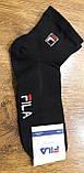 """Чоловічі шкарпетки(сітка) в стилі """"FILA W"""" Туреччина 41-45,середні, фото 5"""
