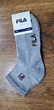"""Чоловічі шкарпетки(сітка) в стилі """"FILA W"""" Туреччина 41-45,середні, фото 6"""