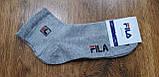 """Чоловічі шкарпетки(сітка) в стилі """"FILA W"""" Туреччина 41-45,середні, фото 7"""