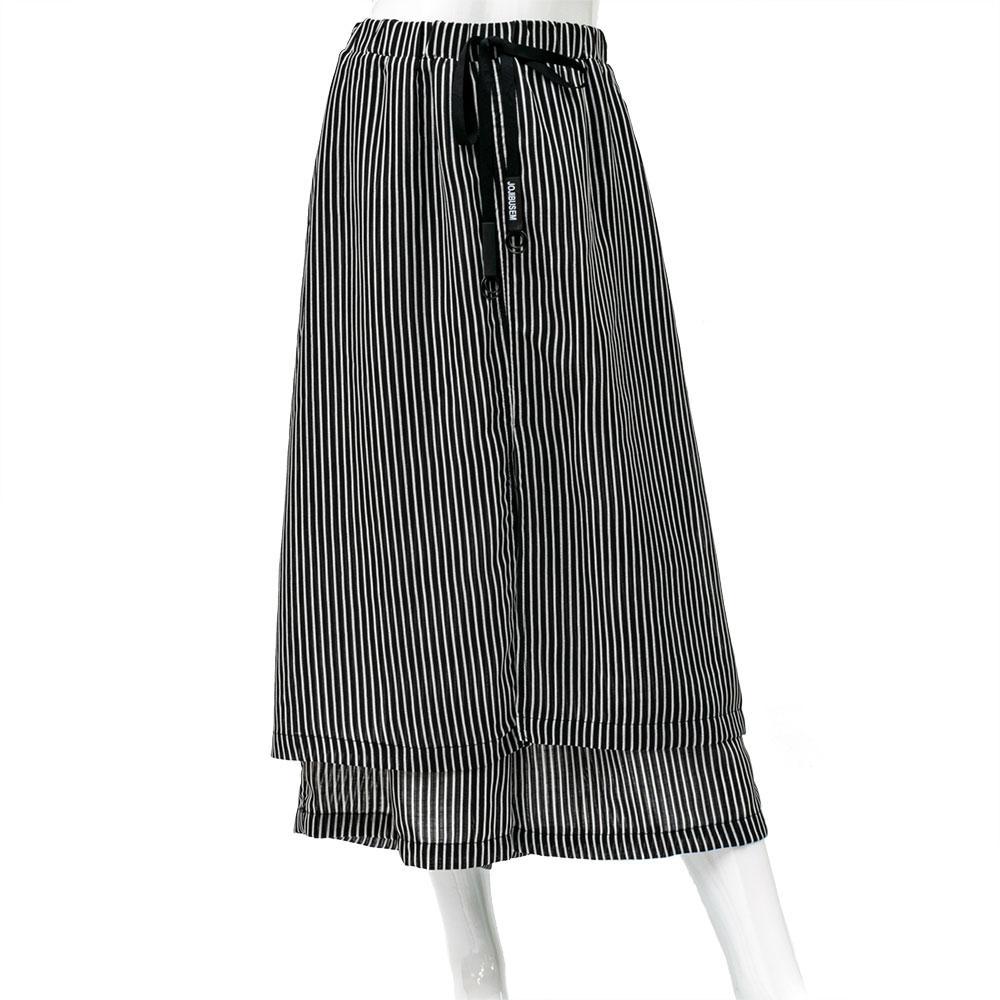 Спідниця-шорти для дівчаток Mimi 130 чорно-біла 901068