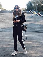 Женский спортивный костюм с мастеркой на молнии и с капюшоном 73msp888, фото 1