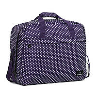 Сумка дорожная Members Essential On-Board Travel Bag 40 Purple Polka
