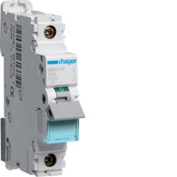 Автоматичний вимикач NDN116 In=16А, 1п, D, 10kA, 1м