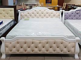Кровать двуспальная с изножьем